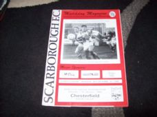 Scarborough v Chesterfield, 1991/92